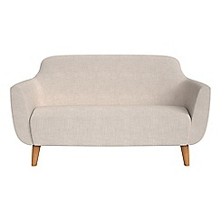 Ben de Lisi Home - Small 2 seater brushed cotton 'Marco' sofa