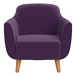 Ben de Lisi Home - Velvet 'Marco' armchair