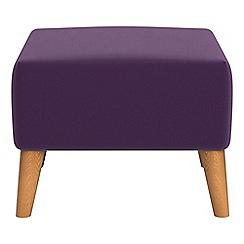 Ben de Lisi Home - Velvet 'Marco' footstool
