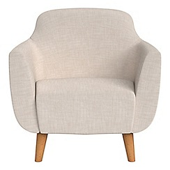 Ben de Lisi Home - Brushed cotton 'Marco' armchair