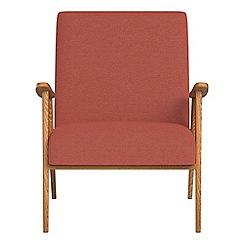 Debenhams - Flat weave fabric 'Kempton' armchair