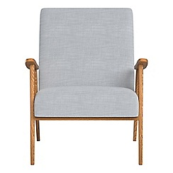Debenhams - Brushed cotton 'Kempton' armchair