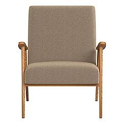 Debenhams - Chenille 'Kempton' armchair