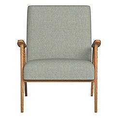 Debenhams - Textured fabric 'Kempton' armchair