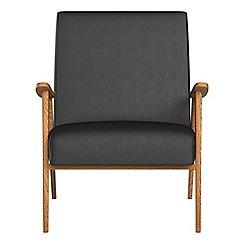Debenhams - Luxury leather 'Kempton' armchair