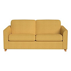 Debenhams - 2 seater tweedy weave 'Carnaby' sofa bed