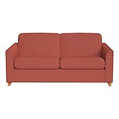 Debenhams - 2 seater flat weave fabric 'Carnaby' sofa bed