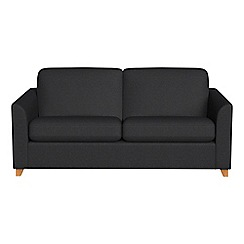 Debenhams - 2 seater flat weave fabric 'Carnaby' sofa bed