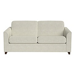 Debenhams - 2 seater brushed cotton 'Carnaby' sofa bed