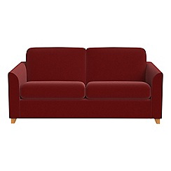 Debenhams - 2 seater velvet 'Carnaby' sofa bed