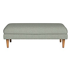 RJR.John Rocha - Textured fabric 'Ravello' footstool