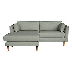 RJR.John Rocha - Textured weave 'Ravello' chaise corner sofa