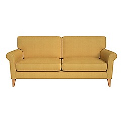 Debenhams - 3 seater tweedy fabric 'Arlo' sofa