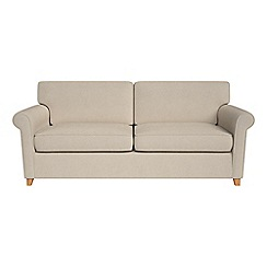 Debenhams - Tweedy weave 'Arlo' sofa bed