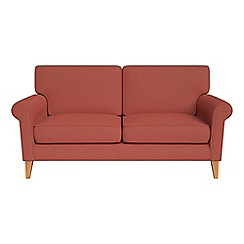 Debenhams - 2 seater flat weave fabric 'Arlo' sofa
