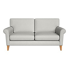 Debenhams - 2 seater flat weave fabric 'Arlo' sofa