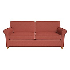 Debenhams - Flat weave fabric 'Arlo' sofa bed