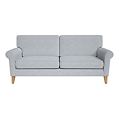 Debenhams - 3 seater brushed cotton 'Arlo' sofa
