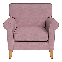 Debenhams - Brushed cotton 'Arlo' armchair