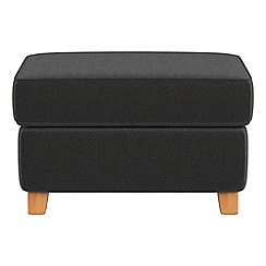 Debenhams - Chenille 'Arlo' storage footstool