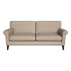 Debenhams - 3 seater textured fabric 'Arlo' sofa