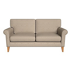 Debenhams - 2 seater textured weave 'Arlo' sofa