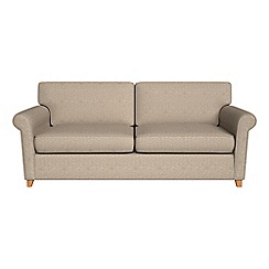 Debenhams - Textured weave 'Arlo' sofa bed