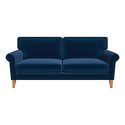 Debenhams - 3 seater velvet 'Arlo' sofa