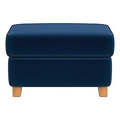 Debenhams - Velvet 'Arlo' storage footstool