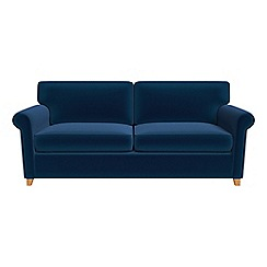 Debenhams - Velvet 'Arlo' sofa bed