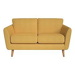 Debenhams - Small 2 seater tweedy weave 'Isabella' sofa