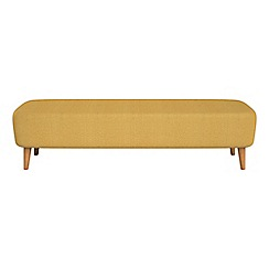 Debenhams - Tweedy fabric 'Isabella' footstool