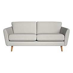 Debenhams - 3 seater flat weave fabric 'Isabella' sofa