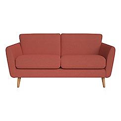 Debenhams - 2 seater flat weave fabric 'Isabella' sofa