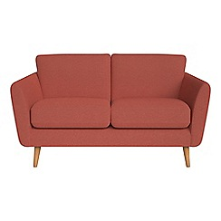 Debenhams - Small 2 seater flat weave fabric 'Isabella' sofa