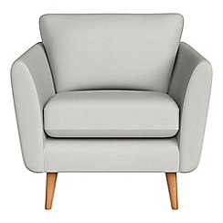 Debenhams - Flat weave fabric 'Isabella' armchair