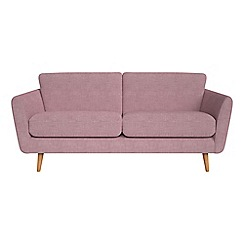 Debenhams - 3 seater brushed cotton 'Isabella' sofa