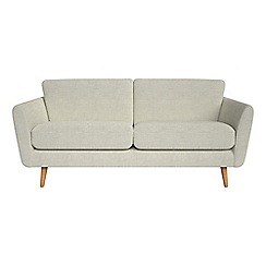 Debenhams - 3 seater brushed cotton 'Isabella' sofa