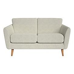 Debenhams - Small 2 seater brushed cotton 'Isabella' sofa