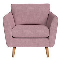 Debenhams - Brushed cotton 'Isabella' armchair