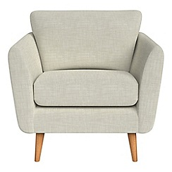 Debenhams - Brushed cotton 'Isabella' armchair