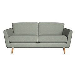 Debenhams - 3 seater textured weave 'Isabella' sofa
