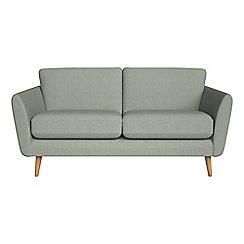 Debenhams - 2 seater textured weave 'Isabella' sofa