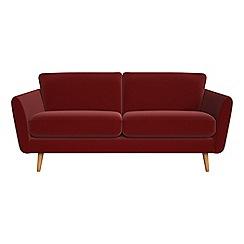 Debenhams - 3 seater velvet 'Isabella' sofa