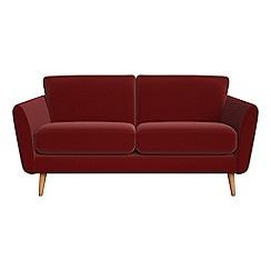 Debenhams - 2 seater velvet 'Isabella' sofa