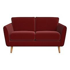Debenhams - Small 2 seater velvet 'Isabella' sofa