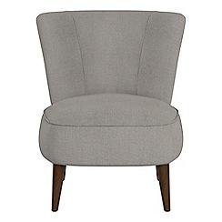 Debenhams - Tweedy weave 'Boutique' accent chair