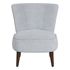 Debenhams - Brushed cotton 'Boutique' accent chair