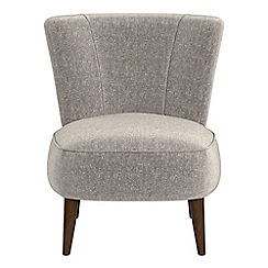 Debenhams - Chenille 'Boutique' accent chair