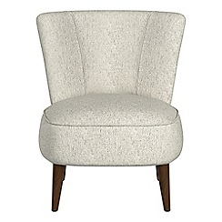 Debenhams - Textured weave 'Boutique' accent chair
